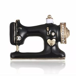 Sewing Machine Brooch Pin
